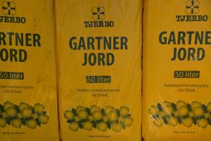Gartner jord, Den beste jorden! 3 sekker kr.250,-